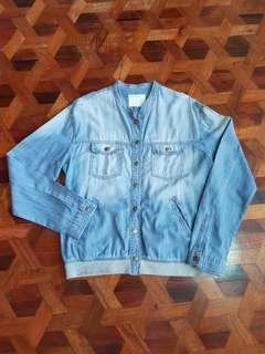 Life in Progress Denim Top/jacket (L)