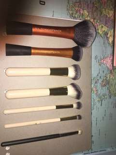 REAL TECHNIQUES, BH COSMETICS AND MAC COSMETICS BRUSHES
