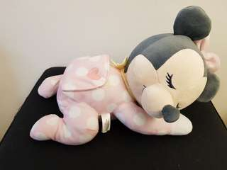 🚚 TAKARA TOMY迪士尼音樂安撫娃娃(米妮)