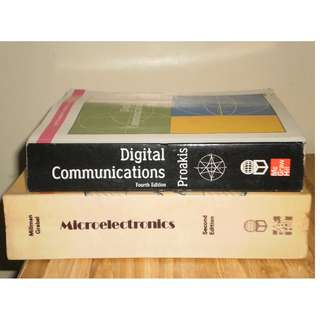 2 Electronics Engineering Books (Digital Electronics+Microelectronics)