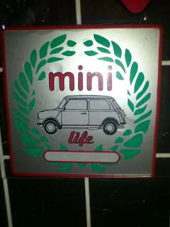 Mini Life Window Sticker