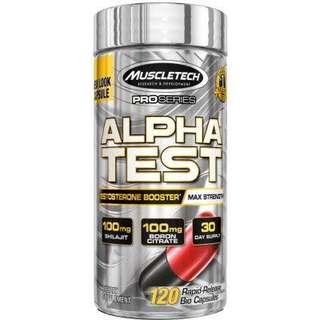 🔥BEST MuscleTech Pro Series Alpha Test 120 caps