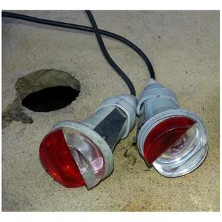Peugeot 404 parking light