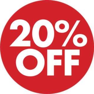 20% OFF!