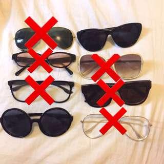 Assorted Sunglasses/Eyewear