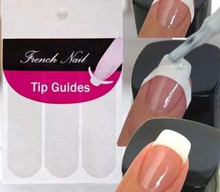 48 pcs french tip guide