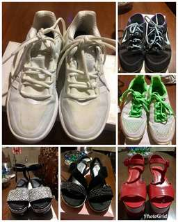 Preloved shoes and sandals