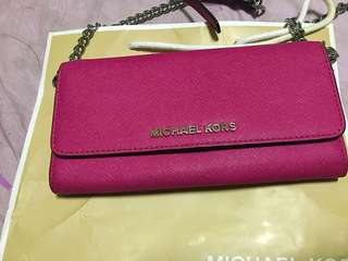 🚚 Michael kors woc 長夾鏈袋包