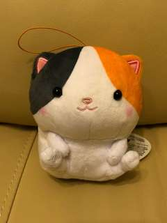 軟林林貓貓吊飾公仔
