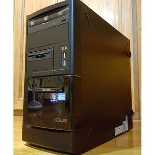 Asus大品牌桌上型電腦主機Intel i7 CPU 3770 頂級八核 掛網機 文書機 非雙核 機殼CASE 3C