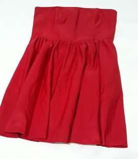 Forever 21 Red Tube Dress