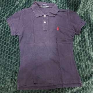 Ralph Lauren Navy Blue Polo T-Shirt