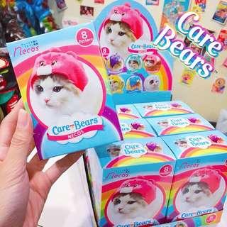 🚚 【花蓮ZOO TOYS 玩具】carebears 彩虹熊 貓咪頭套 寵物服飾 寵物頭套