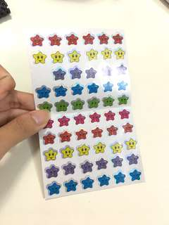 [bless] stars stickers