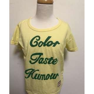 💠現貨2018夏款~台灣製男女童字字母短袖T恤甜甜價💠
