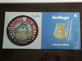 HANK WILLIAMS ● HANKEY MOUNTAIN EXPRESS . on stage vol. 2 / close enough force bluegrass ! ( buy 1 get 1 free )  vinyl record