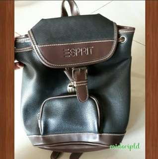 ESPRIT VINTAGE BACKPACK AUTH.!!