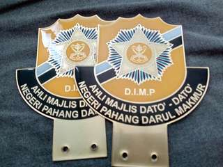 DIMP High Quality Metal Badge Emblem