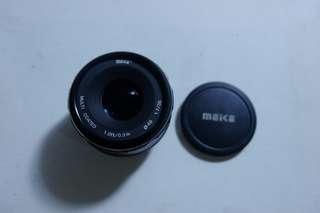 Meike lens 35 mm F/1.7
