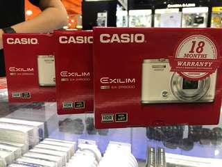 *OFFER* Casio EX-ZR5000 Selfie Camera *18 months Malaysia Warranty (Macro Heritage)