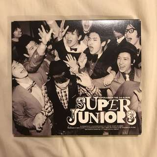 割愛 Super junior 絕版三輯 sorry sorry