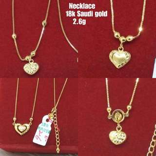 HEART design Necklace!