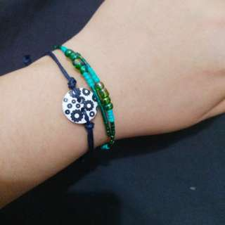 Beach bracelets set