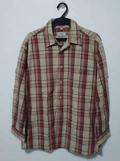 Original Lacoste Checkered Longsleeves