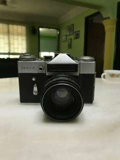 Zenit-E Slr vintage antique camera