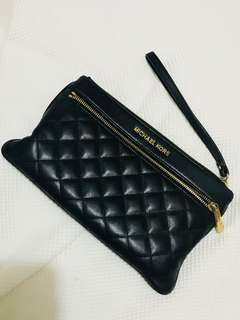 Michael Kors Large Black Pouch