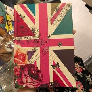 Accessorize 英國 🇬🇧 筆記簿  England  notebook
