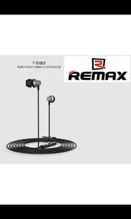 Sealed Remax Black Earpiece with Mic