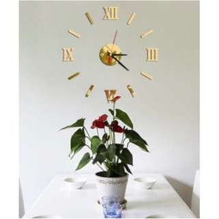 Sticker Wall Clock