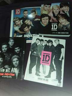 RUSH SELLING! ONE DIRECTION BOOKS BUNDLE