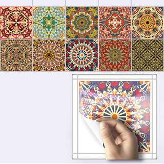 (In stock)waterproof Arab tile sticker wall decal