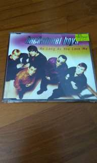 Backstreet boys singles ( as long as you love me)