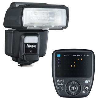 Nissan i60A & Commander Air 1 (For Micro Four Thirds)