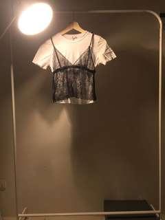 Zara Trafaluc Brallette Shirt