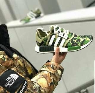 Adidas NMD XR 1 bape army premium original hig Quality