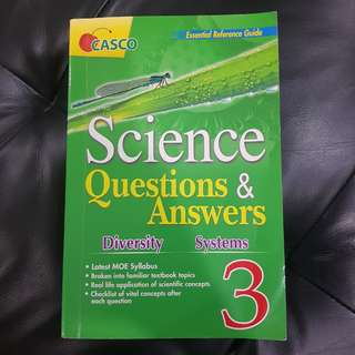 Preloved P3 Science Questions & Answers