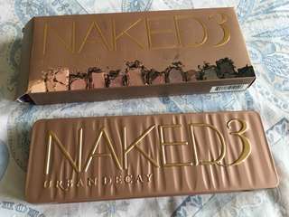 Urban Decay BRAND NEW Naked 3 Eyeshadow Palatte