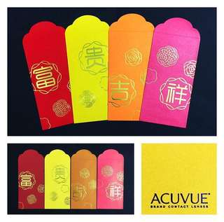 Set Collection Red Packets (Set of 8)