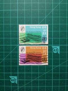 1966 世界衛生組織新總部紀念 舊票一套