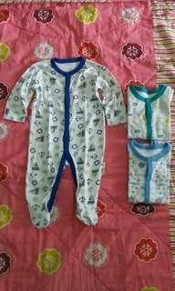 Bundling 3pcs Libby Baby Sleep Suit