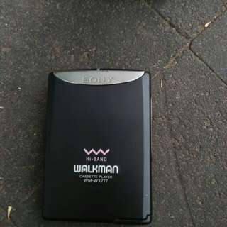 Walkman SONY WM WX777
