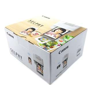 CANON SELPHY CP1300 Compact Photo Printer, White