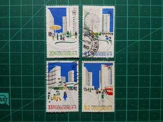 [均一價$10]1981 香港公屋 舊票一套