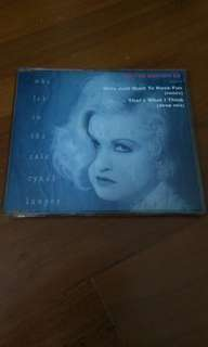 Cyndt lauper singles (limited edtion)