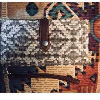 Aeropostale Fabric Cloth Wallet