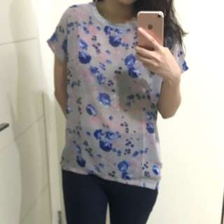 Flower casual top